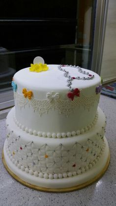 Communion cake valentina!