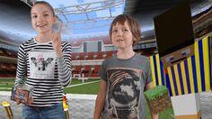 КОНКУРС MINECRAFT! Розыгрыш КОРОБКИ наклеек FIFA 365 и игры в футбол в М...