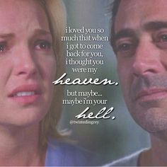 Omg this moment killed me. If it had ever came down to Izzie and Denny and izzie and alex I'd be seriously torn.