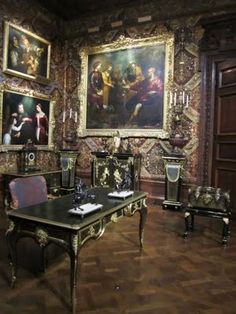 Chatsworth House in England~ Miss Darcy has just penned a note to friends in Town.