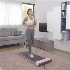 Fitness Workouts, Gym Workout Tips, Fitness Workout For Women, Easy Workouts, Workout Videos, At Home Workouts, Keep Fit, Stay Fit, Foldable Treadmill