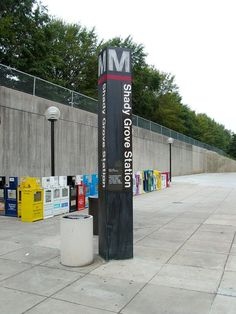 Our complimentary shuttle service will take you to Shady Grove Metro Station.  The Shady Grove Metro is on the Red Line and will take you to downtown Washington DC!