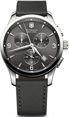 Victorinox Swiss Army Watch Alliance Chronograph #bezel-fixed #bracelet-strap-leather #brand-victorinox-swiss-army #case-material-steel #case-width-42mm #chronograph-yes #classic #date-yes #delivery-timescale-call-us #dial-colour-grey #gender-mens #movement-quartz-battery #official-stockist-for-victorinox-swiss-army-watches #packaging-victorinox-swiss-army-watch-packaging #style-dress #subcat-alliance #supplier-model-no-241479 #warranty-victorinox-swiss-army-official-3-year-guarantee…