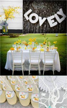 yellow & white ♥