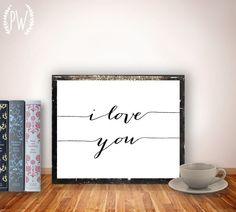 Quote Print Printable wall art decor poster by PrintableWisdom, $5.00