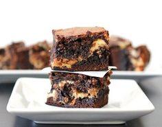 Peanut Butter Cheesecake and Cookie Dough Brownies | AllFreeCasseroleRecipes.com