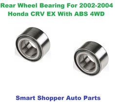 Rear Wheel Bearing & Hub Assemby For 20022004 Honda CRV