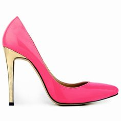 Hot Style Pointed Head Gold Heel Shallow Heel Shoes