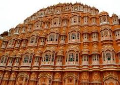 #Hawa #Mahal, also kown as the #Palace of Winds is situated in #Jaipur. It was made so to provide the palace women the facility to see the street festivities.