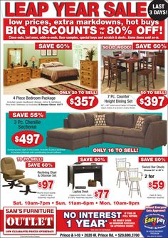 Sam's Furniture Tucson 3/3/12 Local Ads, Furniture Ads, Daschund, Print Ads, Tucson, Dog, Things To Sell, Diy Dog, Print Advertising