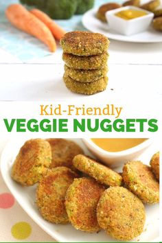 Nuggets with a healthy twist? Oh yes! These veggie nuggets will please the whole family, and they look delicious, A great idea for a healthy yet satisfying dinner any night of the week.