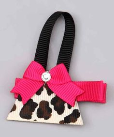 The cutest handbag hair clip for the little girl who wants more than one fashion bag...Making some for my little Princesses...oh yeah!