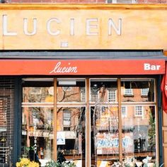 Lucien French Bistro - we review it's kid-friendly factors at www.forkandbib.com
