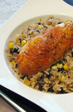 Basil & Oregano Roast Chicken