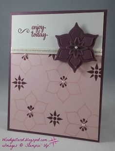 Stampin' Up! Eastern palace suite, Windy's Wonderful Creations
