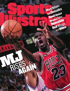 Michael Jordan of The Bulls, June 15, 1998, Sports Illustrated Cover - www.sicovers.com