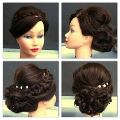 Crochet Braids Valdosta Ga : Practicing on mannequins! Prom Updos or Wedding Updos #LyndsayMercer