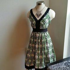 Spotted while shopping on Poshmark: TRULLI........GORGEOUS BLACK /GREEN ...DRESS..! #poshmark #fashion #shopping #style #TRULLI #Dresses