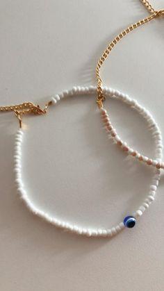 Seed Bead Jewelry, Cute Jewelry, Beaded Jewelry, Beaded Bracelets, Seed Bead Necklace, Handmade Bracelets, Jewellery, Beaded Anklets, Beaded Choker Necklace