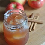 Cranberry + Apple Cider Cocktail