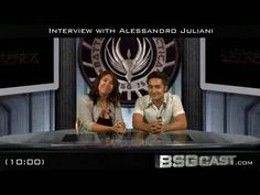 ▶ BSGcast: Interview with Alessandro Juliani - YouTube