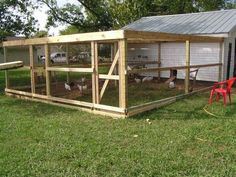 chicken run ideas | Chicken Run Ideas, would love to see your pics! - Page 2
