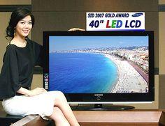 New samsung lcd tv