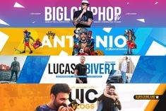 Design a perfect youtube banner by Twto_tv Youtube Design, Youtube Banner Design, Youtube Banner Template, Youtube Banners, Youtube Channel Art, Sports Flyer, Fishing Outfits, Social Media Design, Poses