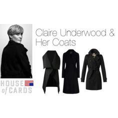 Claire Underwood & Her Coats