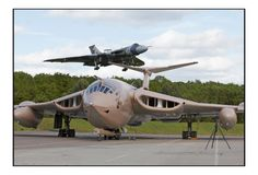 On Christmas Eve 1952, the futuristic Handley Page Victor, the third of Britain's V-Force nuclear deterrent aircraft, soared into the air for the first time. It had been transported to the airfield by road, disguised as a boat. 30 years later, a Victor tanker nursed our chief pilot home after the famous Black Buck raid on Port Stanley's runway. Congratulations to all those dedicated to preserving these magnificent aircraft. Thanks to Les Wilson for the pic…