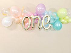 Pastel Balloon Garland Unicorn Balloon Garland Balloon