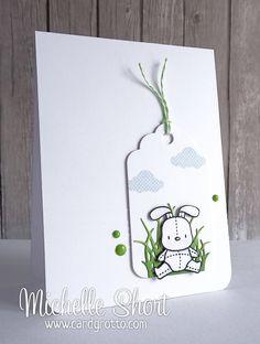 The Card Grotto: Hoppy Easter!
