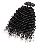 3pcs/Lot Brazilian Virgin Hair Afro Kinky Curly Human Hair Extensions Natural Black 8''-30'' Human Hair Weaves 2016 - $40.6