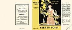 Barren Corn. Georgette Heyer.
