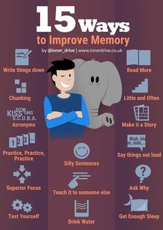 15 Ways to Maximise Memory Asking yourself 'how to how to improve memory and concentration?' 15 Scientifically proven tips to improve memory, perfect for revision time. Study Skills, Life Skills, Skills To Learn, Revision Strategies, Memory Strategies, Gcse Revision, Teaching Strategies, A Level Revision, School Study Tips