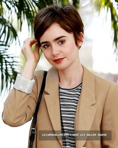 Lily Collins  -   West Hollywood, LA