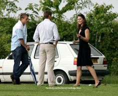 June 4, 2006 - Kate Middleton attending one of Prince William's polo matches at the Longdole Polo Club in Birdslip, Gloucestershire.