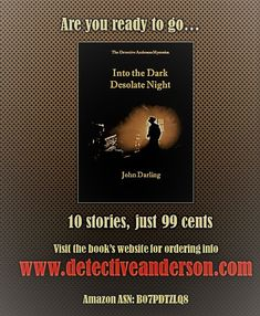Review of my mystery book Ready To Go, The Darkest, Mystery, Author, Night, Books, Libros, Book, Writers