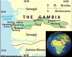 Pray Fulakunda Fulani of Gambia map JOSHUA PROJECT MISSIONS
