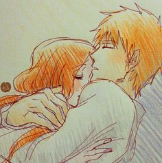 Bleach// Ichigo and Orihime