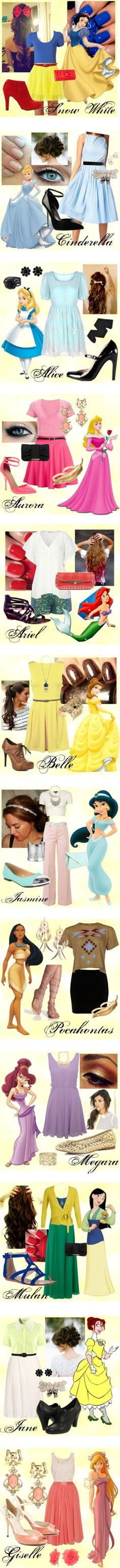 Disney Outfits - Click image to find more Film, Music & Books Pinterest pins