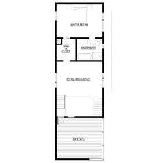 Free modern house plan