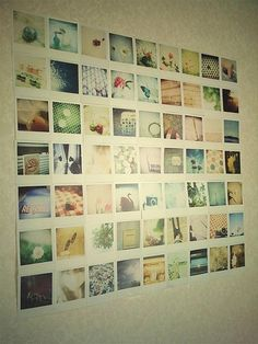 Polaroid Wall Right Picture Hanging Ideas Pinterest