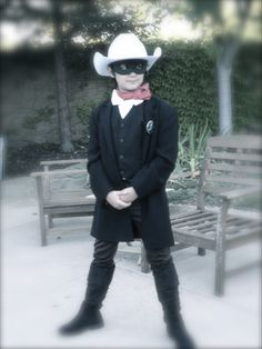 My Lone Ranger  Built from scratch, the best kind of costume!