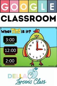 Google Classroom Math Center. Telling time on the hour and half hour is a fundamental math concept. These 24 Google slides provide practice for your students with identifying time on the hour and half hour. Use technology to teach and support student's understanding of analog and digital clocks. This is a perfect addition to your math centers. Ignite your math block with an interactive math center. Your students will have so much fun on their digital devices using this interactive math resource. Kindergarten Math Activities, Kindergarten Classroom, Literacy Stations, Literacy Centers, Math Blocks, Digital Literacy, Digital Clocks, Math Concepts, Telling Time