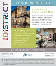 Easy Jobs, New Home Builders, New Homes For Sale, Flyers, Open House, Townhouse, Corner, Bring It On