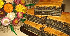 "Un desert frumos și incredibil de gustos: tort polonez ""Pani Walewska"" - Bucatarul Sweets Recipes, Cake Recipes, Cooking Recipes, Desserts, Poke Cakes, Lava Cakes, Poppy Seed Cake, Toffee Bars, Custard Cake"