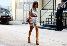Miroslava Duma At Jason Wu  New York Fashion Week Spring 2013 Vogue StreetStyle