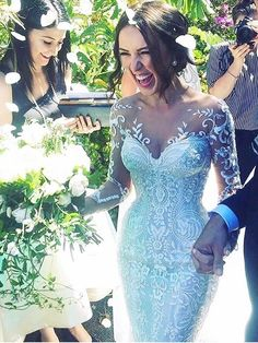 Wonderful Perfect Wedding Dress For The Bride Ideas. Ineffable Perfect Wedding Dress For The Bride Ideas. Dream Wedding Dresses, Bridal Dresses, Wedding Gowns, Lace Wedding, Dresses Dresses, Chic Wedding, Women's Fashion Dresses, Luxury Wedding, Mermaid Wedding