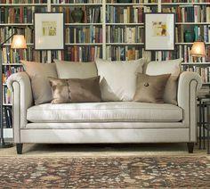 Ticking Stripe Sofa